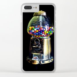 Gum Ball Machine Clear iPhone Case