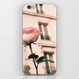 Paris in Blush Pink II iPhone Skin