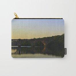 Fredericksburg Railroad Bridge Carry-All Pouch