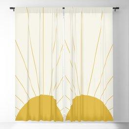 Sunrise / Sunset Minimalism Blackout Curtain
