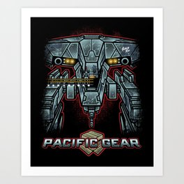 Pacific Gear Art Print