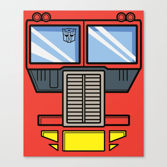 Transformers - Optimus Prime Canvas Print
