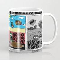 thanksgiving Mugs featuring Thanksgiving by Chris Piascik