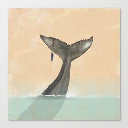 Tail Tale Canvas Print