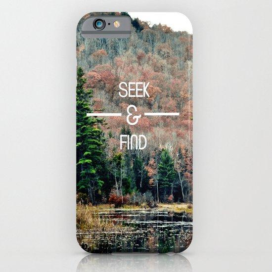 Seek & Find  iPhone & iPod Case