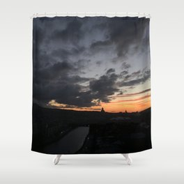 Sunrise in Georgia // #TravelSeries Shower Curtain
