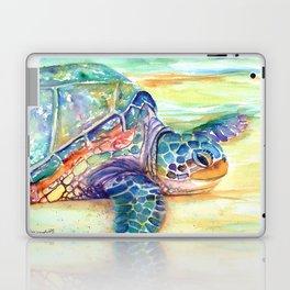 Rainbow Sea Turtle 2 Laptop & iPad Skin