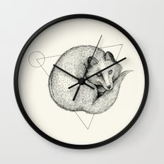 'Wildlife Analysis V' Wall Clock