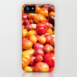 Heirloom Tomatoes iPhone Case