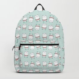 Summer fun kitty Backpack