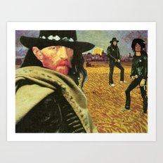 Classic Rock Art Print