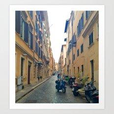 Italian Street 4 Art Print