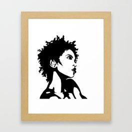 L Boogie Framed Art Print