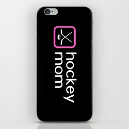 Hockey Mom (Pink) iPhone Skin