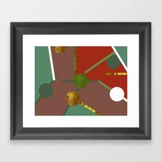 MAP PART N4 Framed Art Print