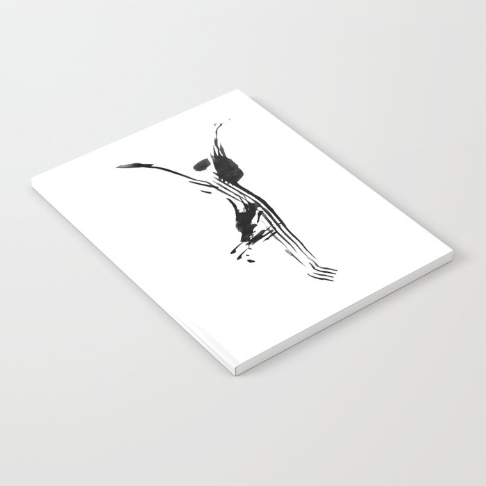 Black And White Minimalist Modern Yoga Pose Illustration For Yoga