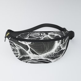 Inverse Roses Fanny Pack
