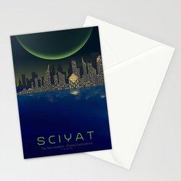 Planet Exploration: Sciyat Stationery Cards