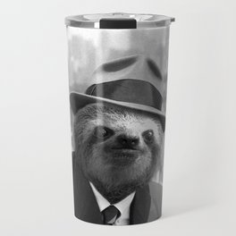 Sloth in New York Travel Mug