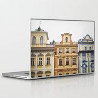 prague Laptop & iPad Skins featuring Prague   by Kameron Elisabeth