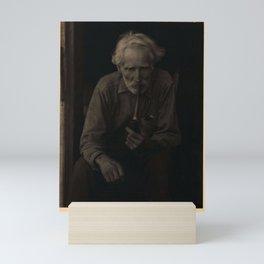 Doris Ulmann  (1882–1934), Nick Barton, Civil War veteran, d. May 1928, bearded man in polka-dot shi Mini Art Print