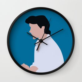 Eric - Blue Wall Clock