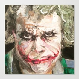 The Joker Freud Canvas Print