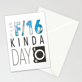 It's an F/16 Kinda Day Stationery Cards