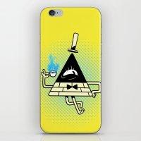 bill iPhone & iPod Skins featuring Bill by zaMp