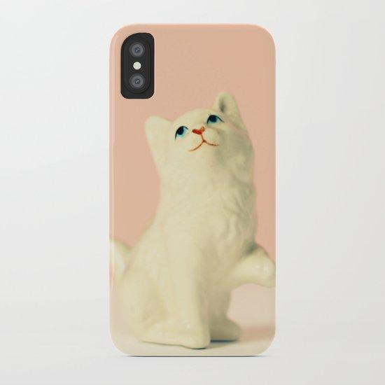 Vintage Kitten iPhone Case