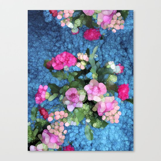 Out of the Blue Canvas Print