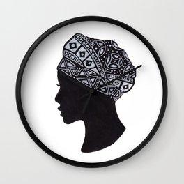 The Exotic of Turban Woman Wall Clock