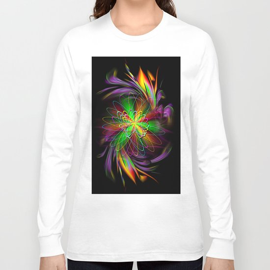Abstract Perfektion 78 Long Sleeve T-shirt