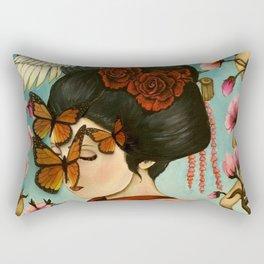 The Exploitation of Butterfly Rectangular Pillow