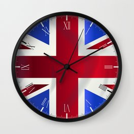 Union Jack Flag Wall Clock