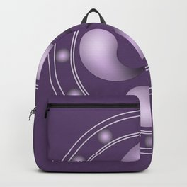 LAUBURU IN PURPLE (abstract geometric symbol) Backpack
