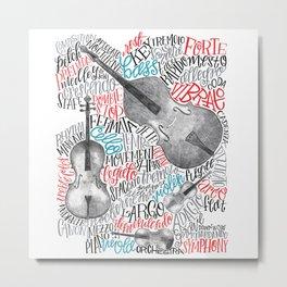 String Quartet Metal Print