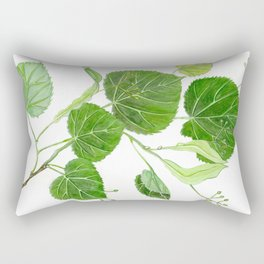 Summer of Linden Breeze Rectangular Pillow
