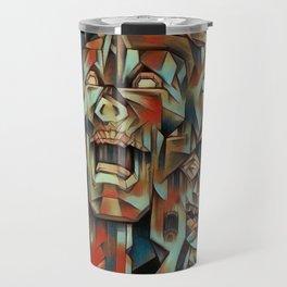"""""""Man In Agony"""" Travel Mug"""