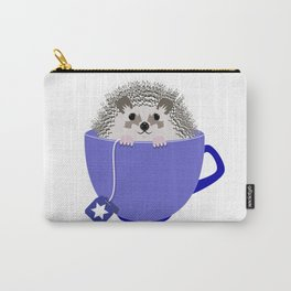 Kosher Chanukah Holiday Hedgehog Carry-All Pouch