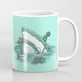 Happy Birthday Shark Coffee Mug