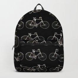 Vintage Bicycle Pattern Backpack