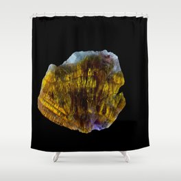 Cacozenite Shower Curtain