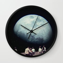 Way Back Home Wall Clock