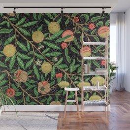 William Morris Tropical Fruits Pattern Wall Mural
