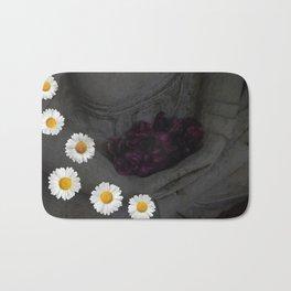 Flowers are a treasure Bath Mat