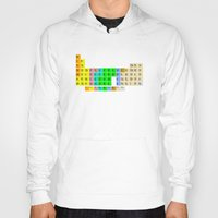 bible verses Hoodies featuring PERIODIC BIBLE by MR TEE