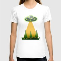 i want to believe T-shirts featuring I Want To Believe by molmcintosh