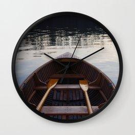 No where to row Wall Clock