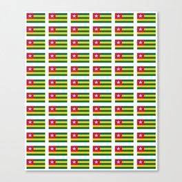 Flag of Togo -togolais,togolaise,togolese,Lomé,Sokodé,Ewe,Mina. Canvas Print